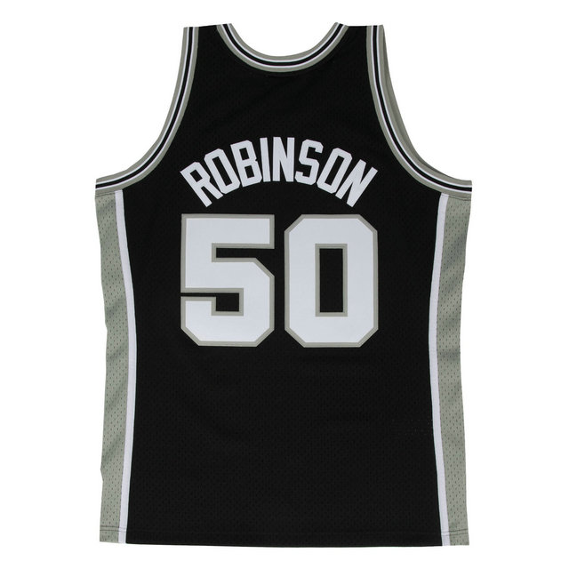 Maillot NBA David Robinson San Antonio Spurs 1998-99 Swingman Noir