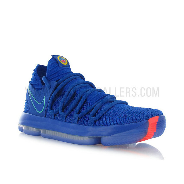 Nike Zoom KD 10 City Edition Bleu