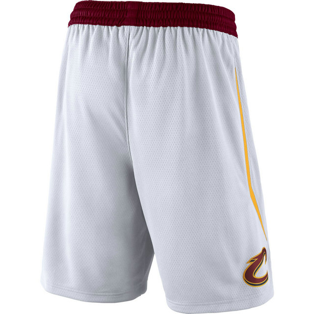 Short Cleveland Cavaliers Association Edition Swingman Blanc