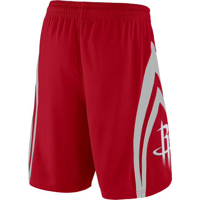 Short Houston Rockets Icon Edition Swingman Rouge