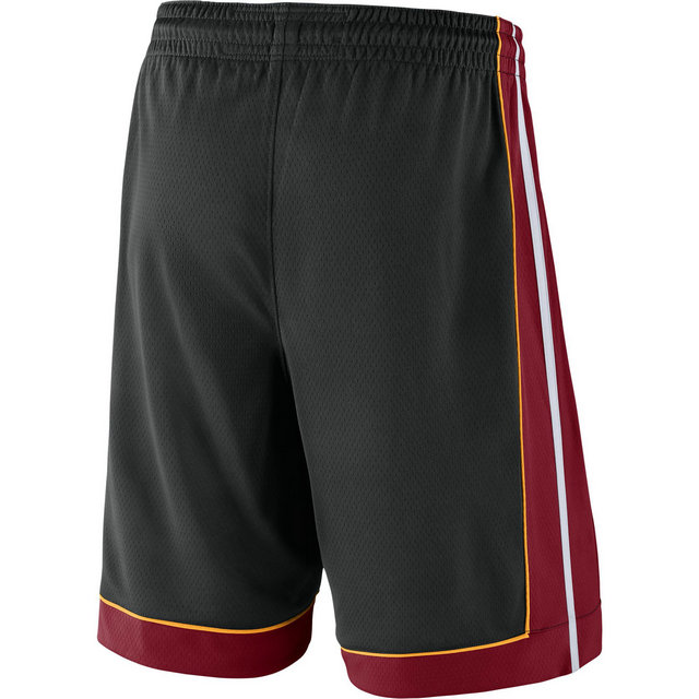 Short Miami Heat Icon Edition Swingman Noir