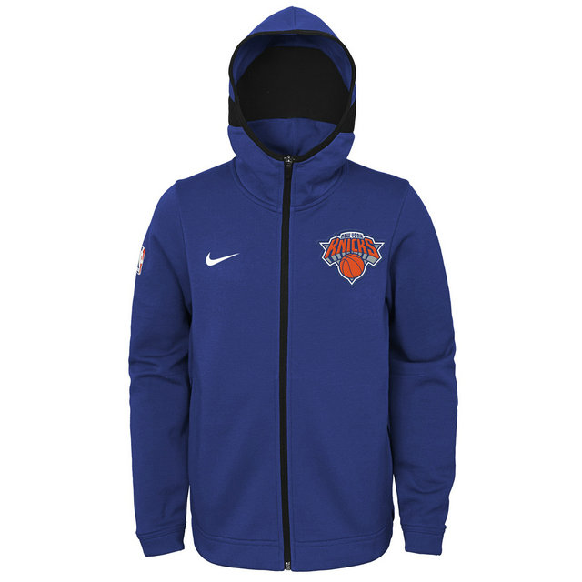 Sweat NBA Enfant New-York Knicks Showtime Bleu