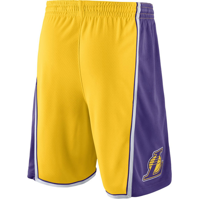 Short Los Angeles Lakers Icon Edition Swingman Yellow Jaune