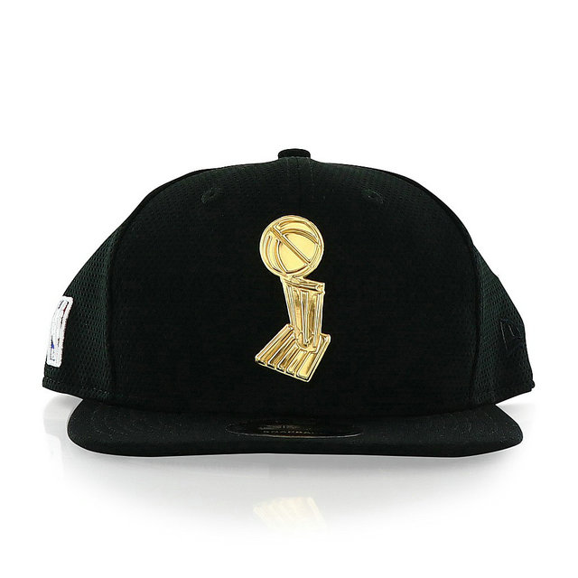 Casquette NBA Trophy New Era 9Fifty Gold Noir