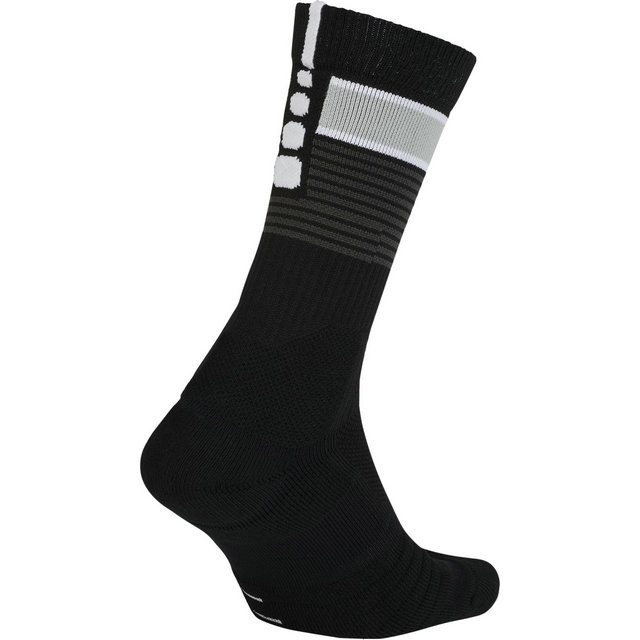 Chaussettes San Antonio Spurs City Edition Elite Quick Noir